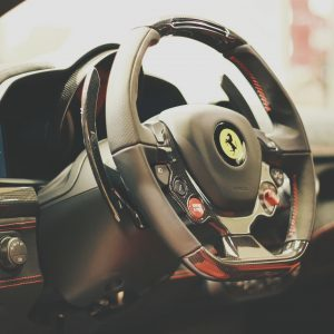 Ferarri Steering Wheel - Uniseal Dealer Services
